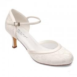 Sapato noiva renda