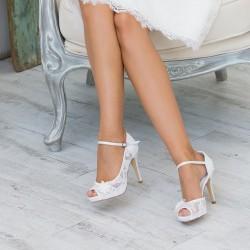 sapatos renda para noivas