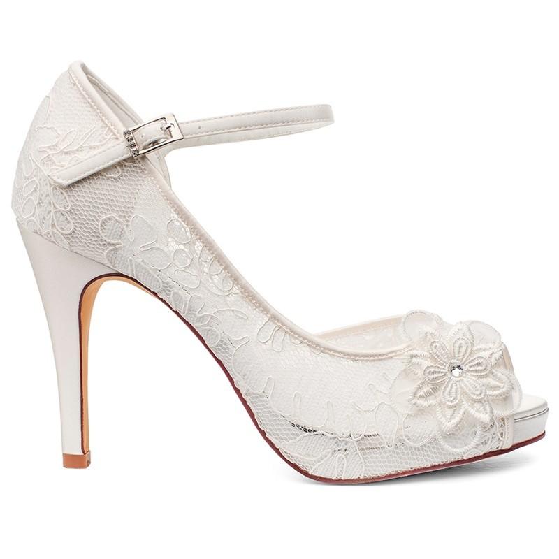 Sapatos noiva renda