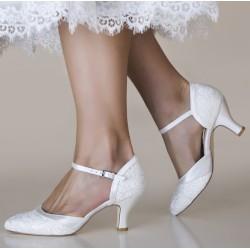 sapatos noiva salto medio