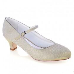 Sapato Noiva salto baixo