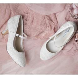 Sapatos noiva estilo vintage