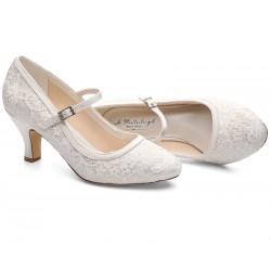 Sapatos noiva vintage