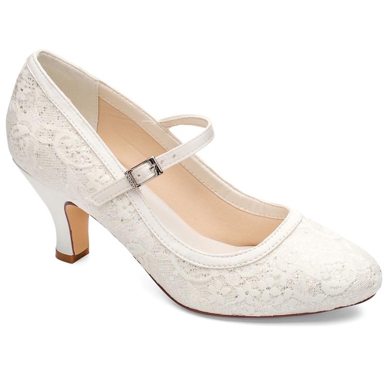 Sapato noiva salto medio