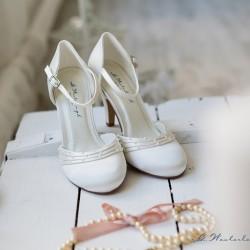 sapatos noiva biqueira redonda salto alto
