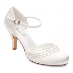Sapato noiva clássico salto alto