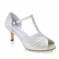 Sapatos para noivas salto baixo