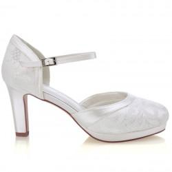 sapatos noiva clássicos e elegantes