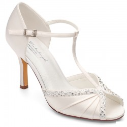 sandalias salto alto noivas