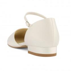 Sapatos sem salto para noivas