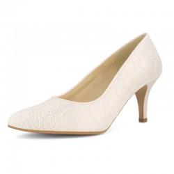 Sapatos para noivas salto médio