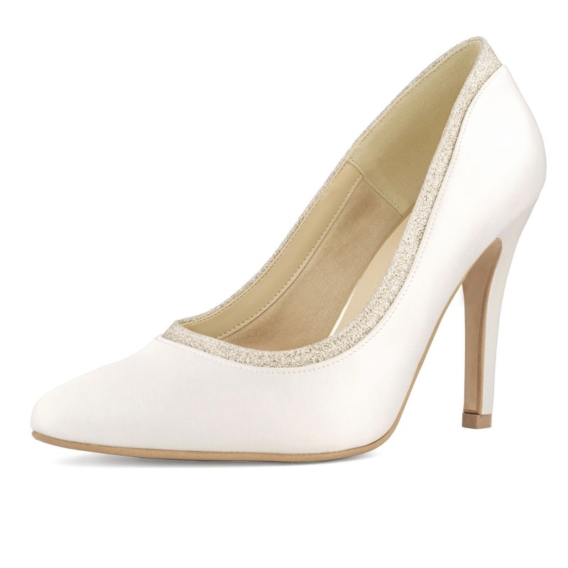 Sapatos Noiva salto alto