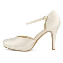 Sapatos noiva clássicos salto alto