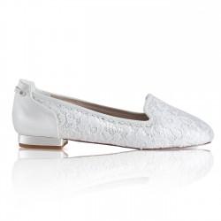 Sapatos rasos para noiva