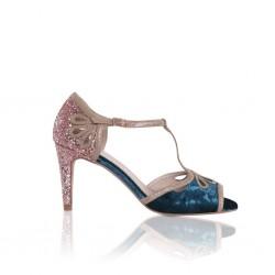 Sapatos de cor para noivas
