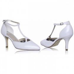 Sapatos salto médio para noivas