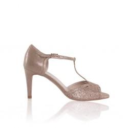 Sandalias para noivas douradas