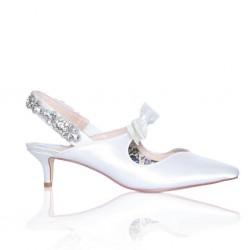 Sapato Noiva salto muito baixo