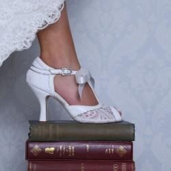 Sapatos Vintage para Noivas Romanticas, Sonhadoras e Elegantes!!
