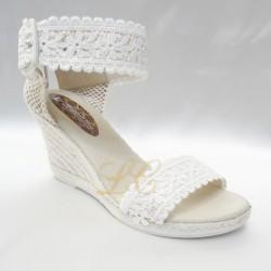 Alpargata sandalia noiva