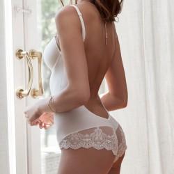 Body sem costas noivas