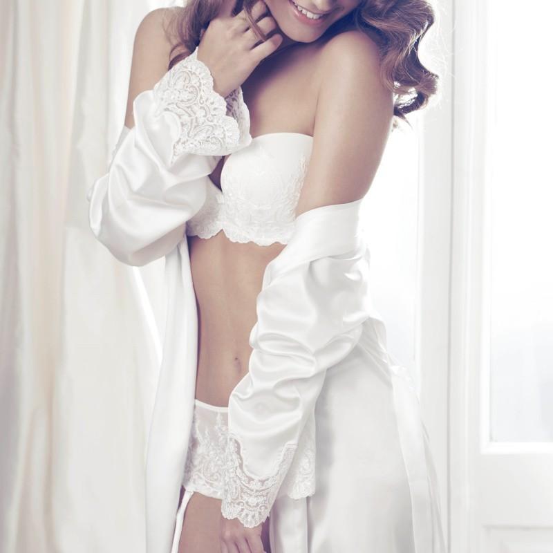 Robe cetim para noivas