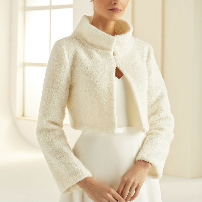 Casaco noiva lã