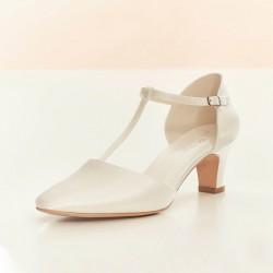 Sapatos baixos para noiva
