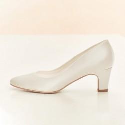 Sapatos salto baixo noivas - portugal